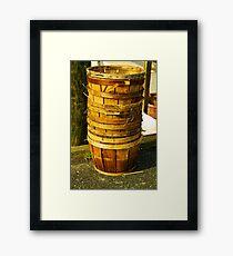 Baskets Framed Print