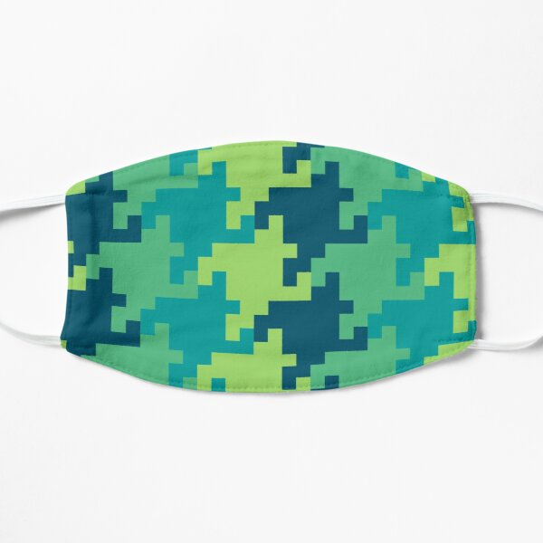 Pixellated Houndstooth Mask