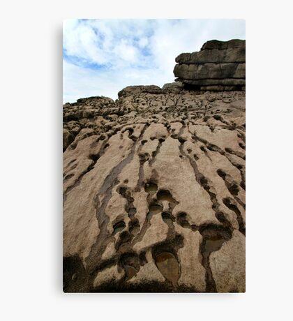 Beach Rocks - Wales Canvas Print