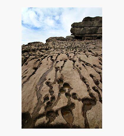 Beach Rocks - Wales Photographic Print