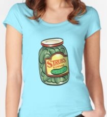 Strub Pickles Women's Fitted Scoop T-Shirt