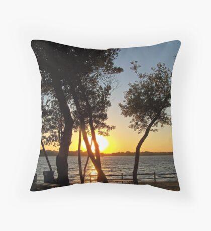 Prairie Oasis Throw Pillow