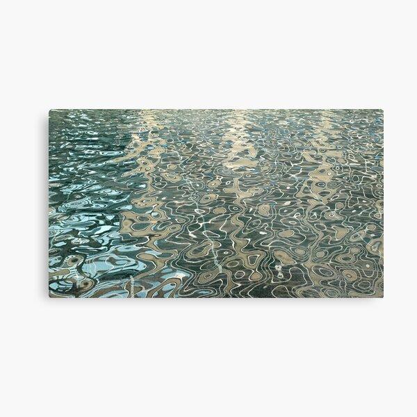 Liquid Topology Metal Print
