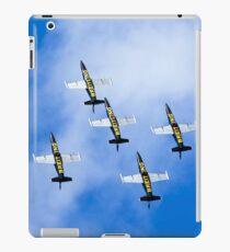 Breitling air display team L-39 Albatross iPad Case/Skin