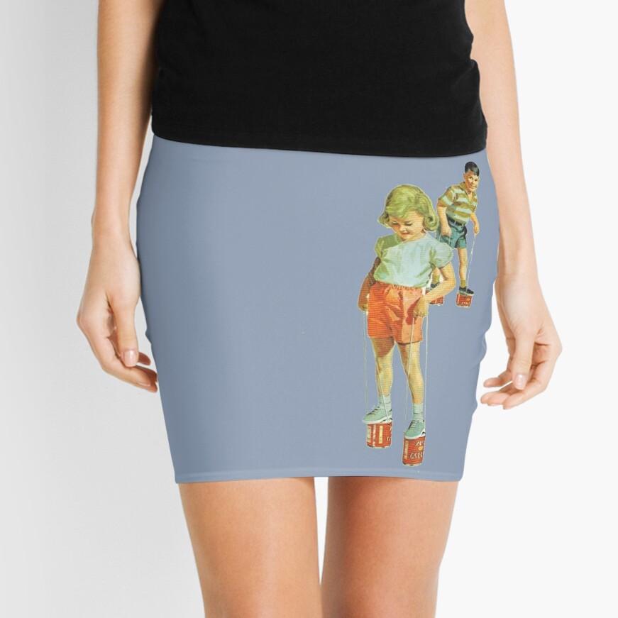 The Simple Life : Tin Can Stilts Mini Skirt