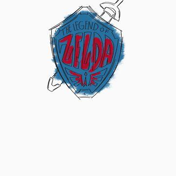 Legend of Zelda-Hylian Shield by Deividas