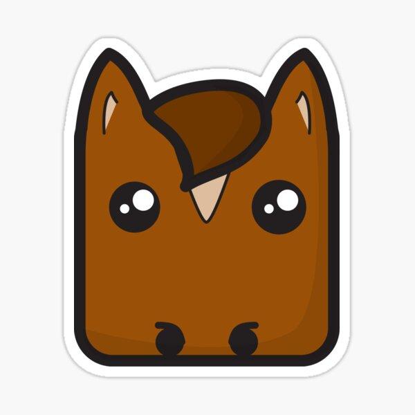 NBAR Horse Sticker