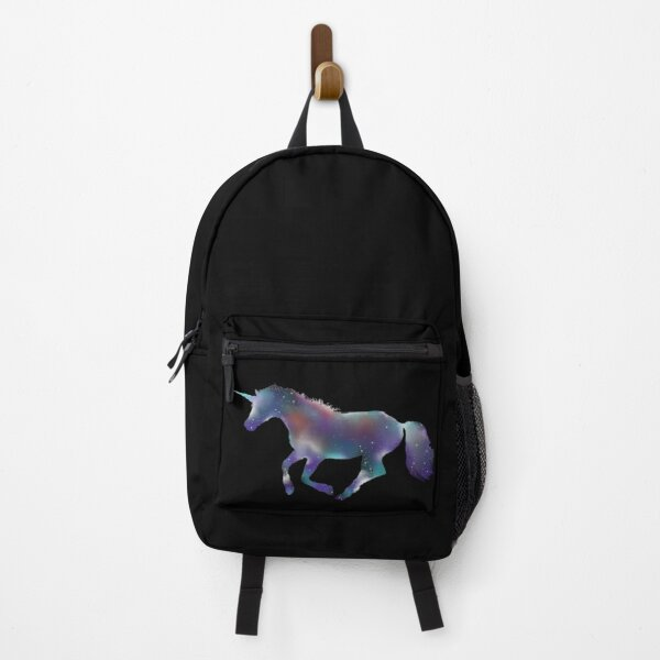 Cosmic colorful unicorn Backpack