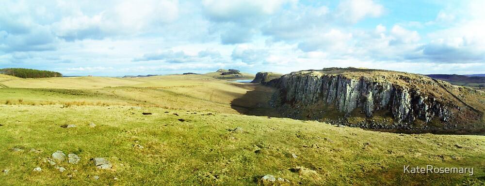 Hadrian's Wall by KateRosemary