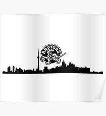Raptors City  Poster