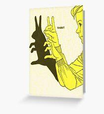Run Rabbit Run : Such a Good Boy Greeting Card