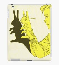 Run Rabbit Run : Such a Good Boy iPad Case/Skin