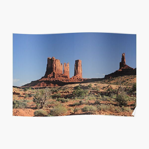 Monument Valley Utah Poster
