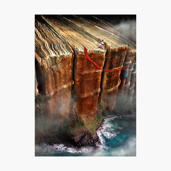 Cliffhanger Photographic Print