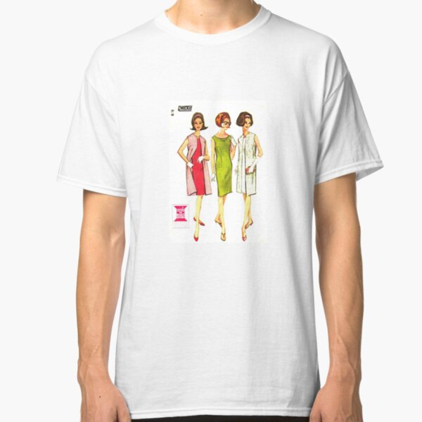 Mc Calls 'CHICKIE' Pattern 7819 : Early 1960's Classic T-Shirt
