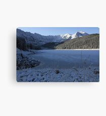 Snowy mountains Co. Canvas Print