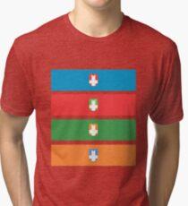 Castle Crashers Tri-blend T-Shirt