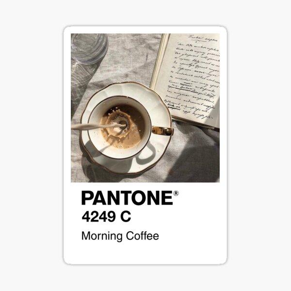Pantone Morning Coffee Sticker