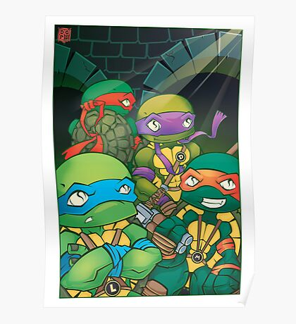 Heroes In A Halfshell Poster