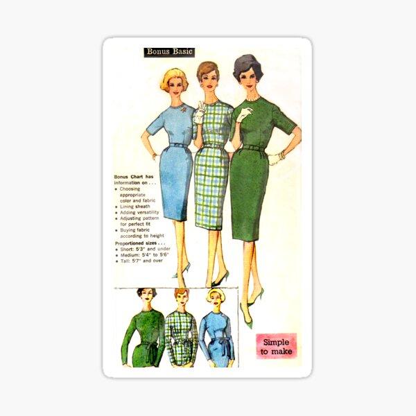 Simplicity Pattern 3574 : Circa Mid 1950's  Sticker