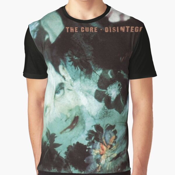 The Cure Disintegration Graphic T-Shirt