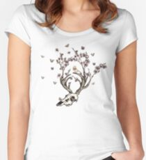 Life 2 - Sepia Version Women's Fitted Scoop T-Shirt