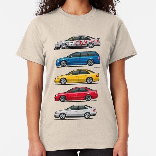Stack of Audi A4 B5 Type 8d Classic T-Shirt