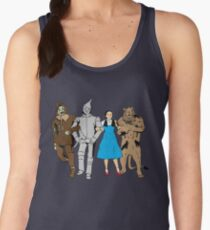 Why does the scarecrow keep saying 'brains'?! Women's Tank Top