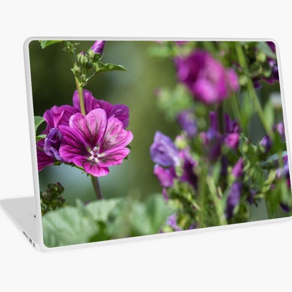 Purple Mallow Laptop Skin