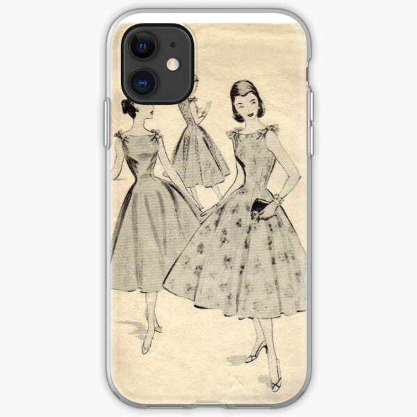 Mc Calls Pattern 3659 : Copyright 1953 iPhone Soft Case