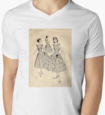 Mc Calls Pattern 3659 : Copyright 1953 Men's V-Neck T-Shirt
