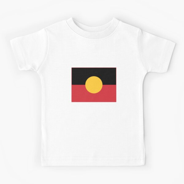 Aboriginal Flag #3 Kids T-Shirt