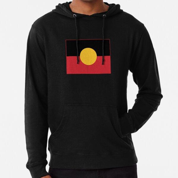 Aboriginal Flag #3 Lightweight Hoodie