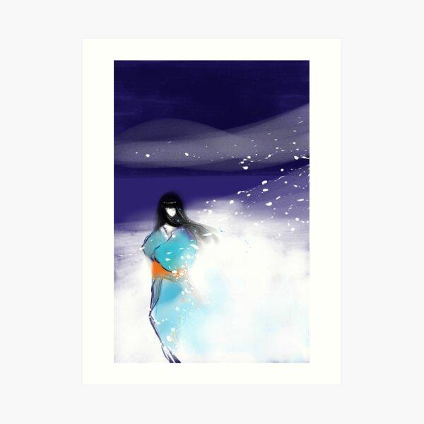 Yuki Onna: Snow Maiden Art Print