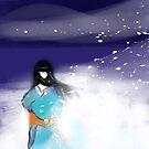Yuki Onna: Snow Maiden by sandpaperdaisy