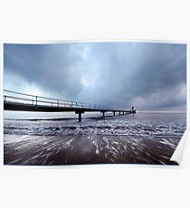 Clump Point Jetty, Mission Beach Poster