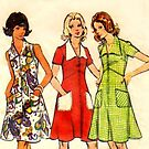 Butterick Pattern 3068 : Circa Late 60's / Early 70's by Lisa Defazio