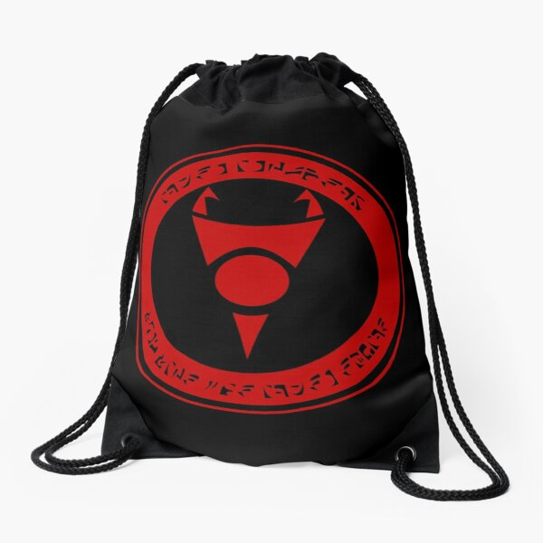 Irken Invader Drawstring Bag