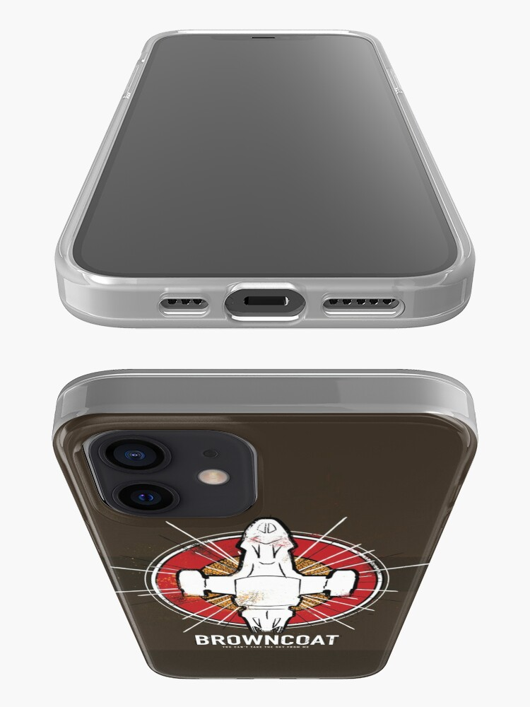 Alternate view of BROWNCOAT iPhone Case & Cover