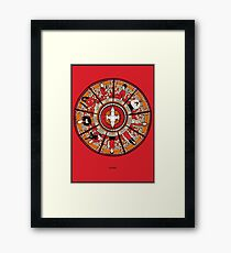Cathedral of the Serenity Framed Print