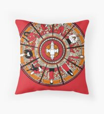 Cathedral of the Serenity Throw Pillow