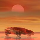 Lamborghini Sunset by Cameron Lundstedt