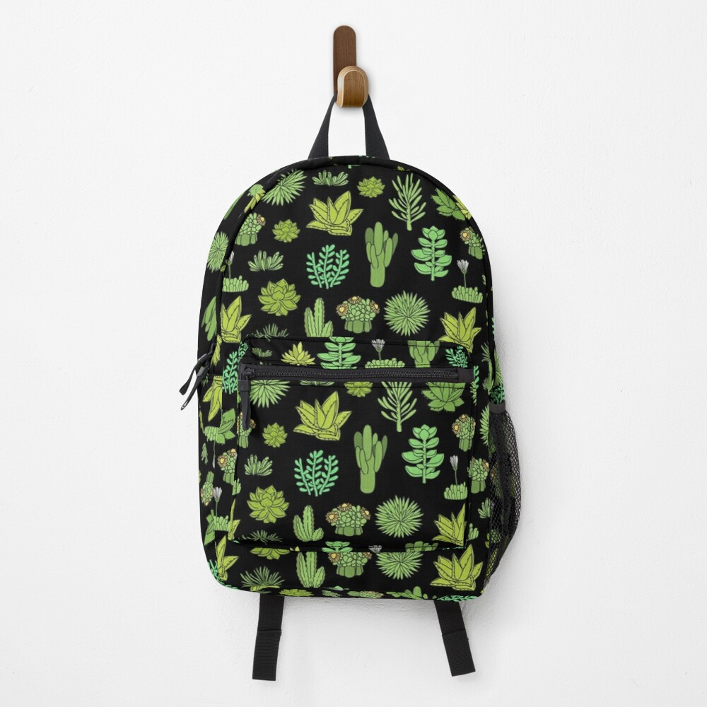 Succulents and cactus. For cacti plant lover Backpack