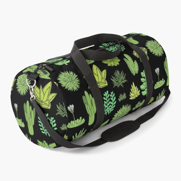 Succulents and cactus. For cacti plant lover Duffle Bag