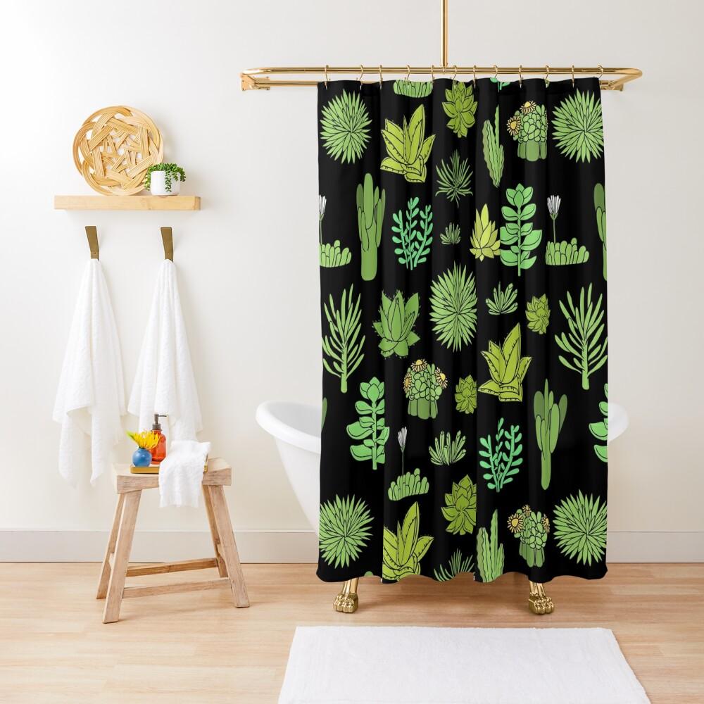Succulents | Shower Curtain