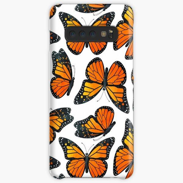 Monarch Butterfly Pattern Samsung Galaxy Snap Case