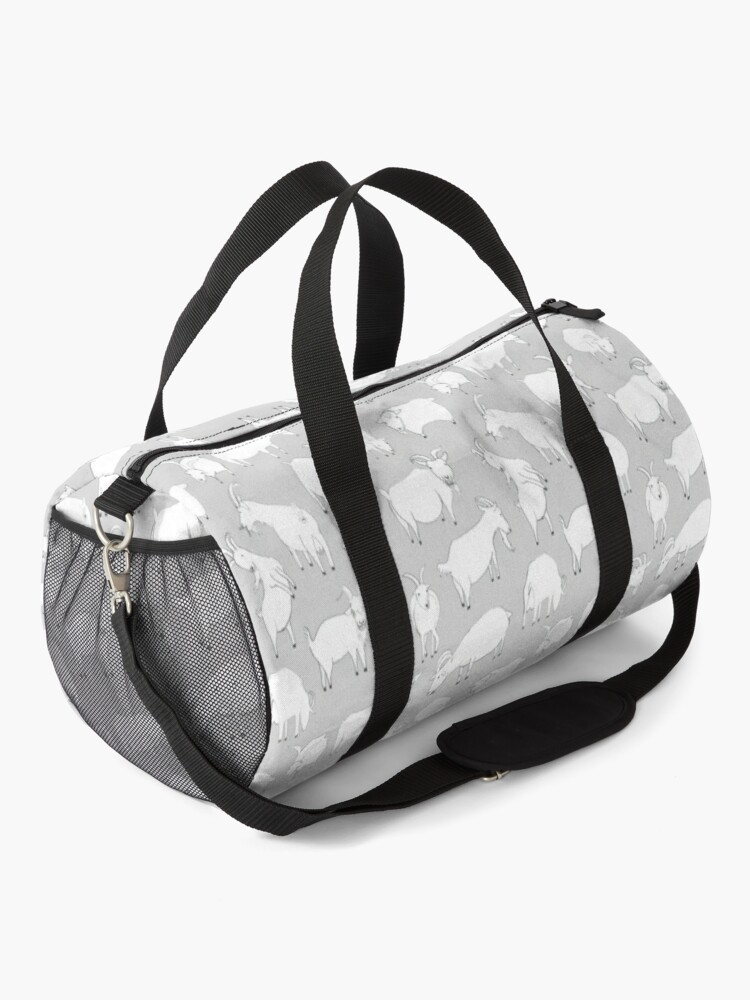 Alternate view of Charity Fundraiser - Grey  Goats Duffle Bag