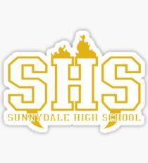 sunnydale high school deluxe Sticker