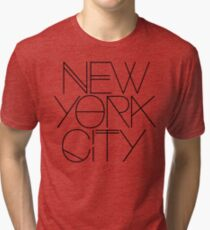 New York City. Tri-blend T-Shirt