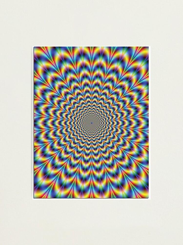 Alternate view of Optical illusion Trip Photographic Print